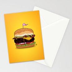 Bacon Cheeseburger Stationery Cards