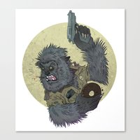 Wolfcop Canvas Print