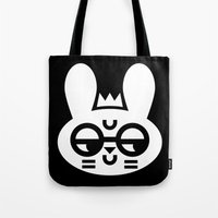 Wry Rabbit Tote Bag