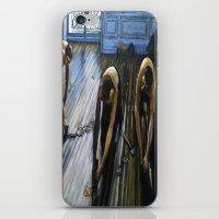 Floor Scrapers iPhone & iPod Skin