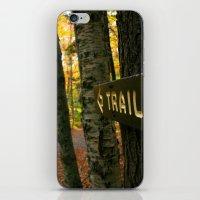 The Trail  iPhone & iPod Skin