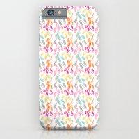 Smaller Colorful Swirls iPhone 6 Slim Case