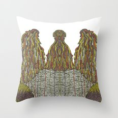 Humps! Throw Pillow
