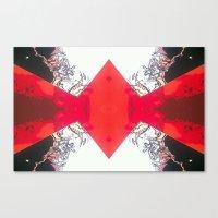 Diamond Crevasse  Canvas Print
