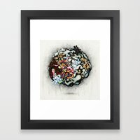 Isolating The Collective… Framed Art Print
