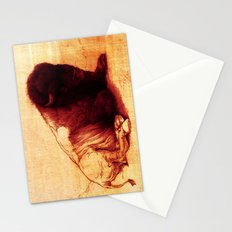 The Resting Of The Force Stationery Cards