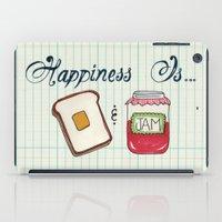 Happiness Is Toast & Jam iPad Case