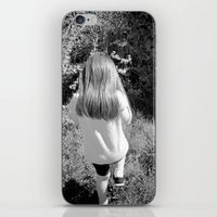 Pickin' Flowers In The S… iPhone & iPod Skin