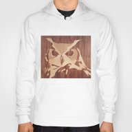 Owl Marquetry Hoody