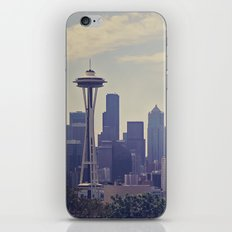 Seattle Skyline iPhone & iPod Skin