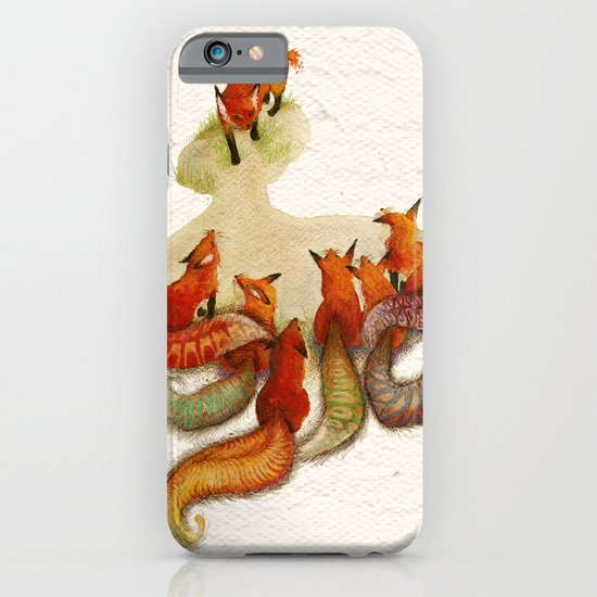 aesop's fable - the fox and his tail iPhone & iPod Case