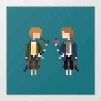 Merry & Pippin Canvas Print