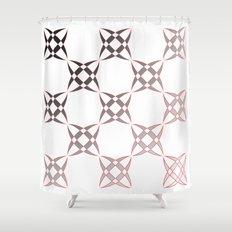 Checker C3 Shower Curtain