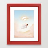 A Frame Framed Art Print