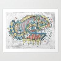 Ballenato Art Print