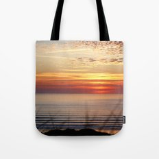 Sunset Surf Gwithian Bay Tote Bag
