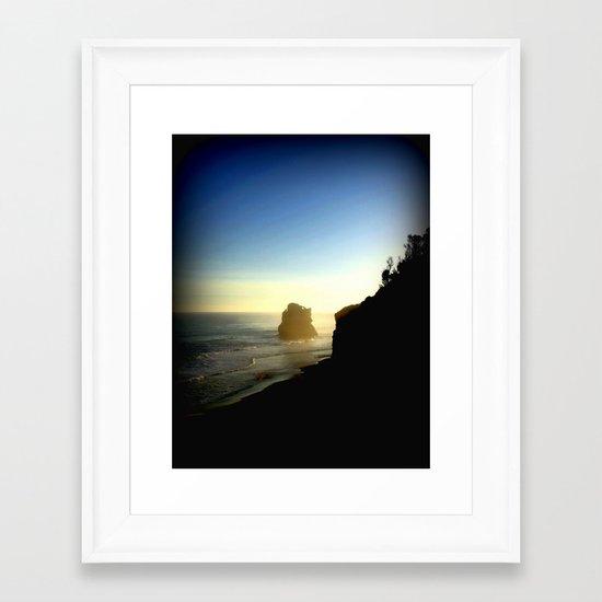 Alone in Time! Framed Art Print