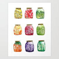 Getting Canned Never Loo… Art Print
