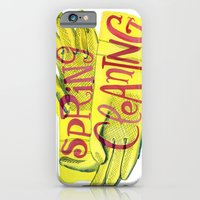 Spring Cleaning iPhone 6 Slim Case