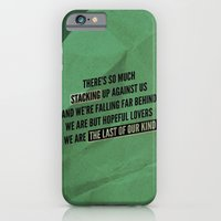 iPhone & iPod Case featuring We are but hopeful lovers by Graham Ferguson