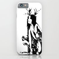 iPhone & iPod Case featuring satyr by Marga Parés