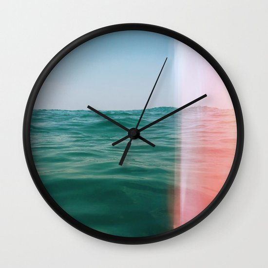 Whisper of Waves Wall Clock