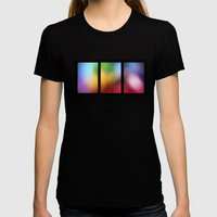 tryptic Womens Fitted Tee Black SMALL