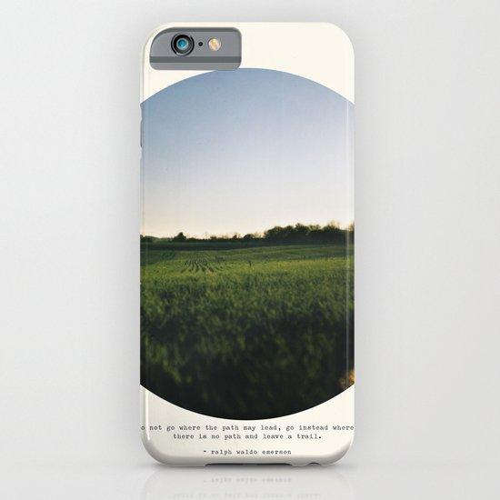 Go Instead iPhone & iPod Case