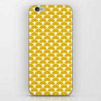 Dragon Scales Mustard iPhone & iPod Skin