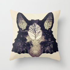 Forest Whisper (alt.) Throw Pillow