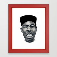 IFHY (Tyler the creator) Framed Art Print