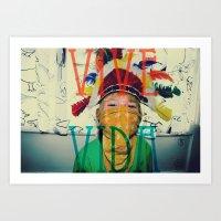 Vive la vida Art Print