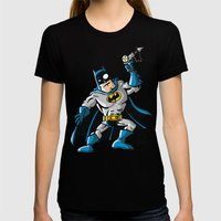 Another Strong Man In A … Womens Fitted Tee Black SMALL