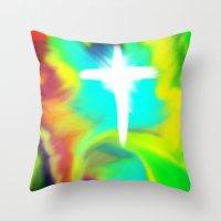 Rapture... A New Beginni… Throw Pillow