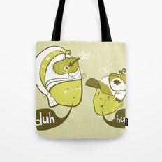 Pea Brain Patty and Bird Brain Bimmy Tote Bag