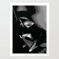 Darth Vader Art Print
