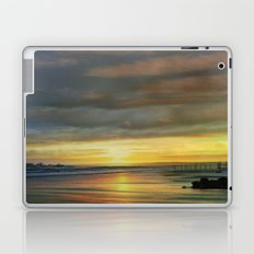 Captivating Sunset Over The Harbor  Laptop & iPad Skin