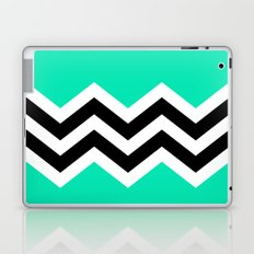 TEAL COLORBLOCK CHEVRON Laptop & iPad Skin