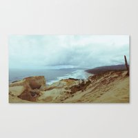 Distant Cape Lookout Canvas Print