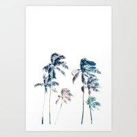 Stellar Palms Art Print