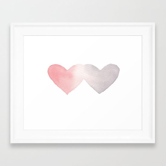 Commingle Framed Art Print