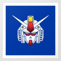 Mobile Suit In Disguise Art Print