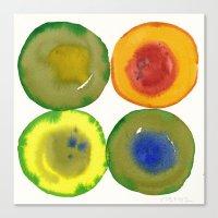 Circles No. 7 Canvas Print