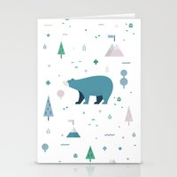 Bear-y Nice to Meet You Stationery Cards