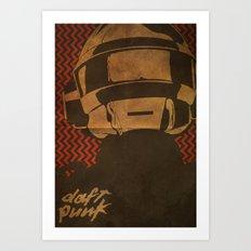 Daft Punk Thomas Bangalter I Art Print