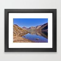 Wastwater - Lake District Framed Art Print