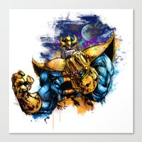 Thanos Canvas Print
