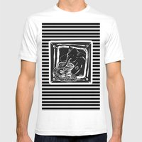 Elefante Col Caffe' Mens Fitted Tee White SMALL