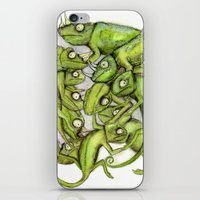 Chameleons iPhone & iPod Skin