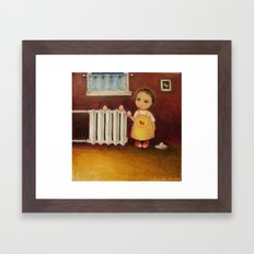 Insistent Need For A Pet Framed Art Print
